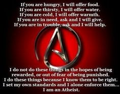 This is what i believe in as an atheist
