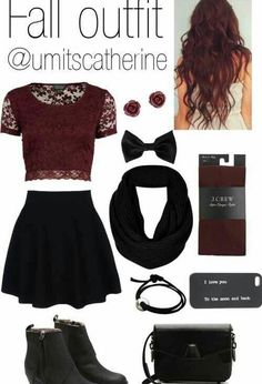 Fall outfit for teen school girl*** ☻ ☻. ☻