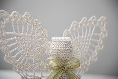 Amazing crochet Angel beautiful decoration or by AgaKnickKnack, €17.00