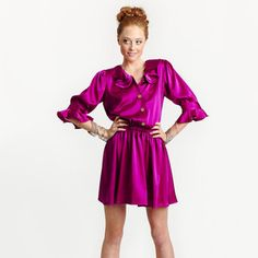 Ryker Dress Magenta, $135, now featured on Fab.