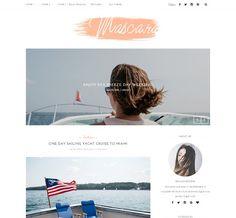 Mascara - Wordpress blog theme by MaiLoveParis on @creativemarket