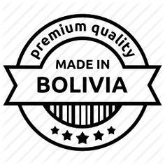 Made in Bolivia.