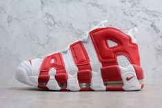 the best attitude 29068 bb18c Buy Tax Free Men s And Women s Nike Air More Uptempo White Gym Red from  Reliable Tax Free Men s And Women s Nike Air More Uptempo White Gym Red  suppliers.