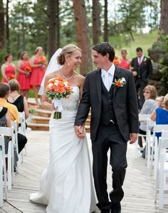 Melissa and Chris - mr and mrs