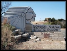 Roman Nose State Park is located in Blaine County, north of Watonga, OK. The park opened in 1937 & was named after Chief Henry Roman Nose. Roman Nose State Park is one of the original seven Oklahoma state parks.