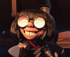 Edna Mode from The Incredibles | 26 Disney Movies That Should Actually Exist