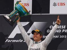 GP China: Nico Rosberg, vencedor del GP de China 2012 en el circuito de Shangai.
