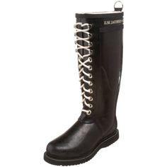ILSE JACOBSEN Women's Rub 1 Rain Boot,Black,41 EU/11 M US * For more information, visit image link.