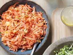 Carrot-Pineapple Slaw recipe from #FNMag