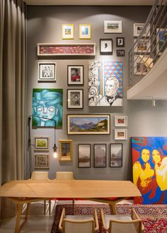 picture gallery | picture wall |  Studio das Arquitetas by AT arquitetura para a Mostra Casa e Cia 2015 | Núcleo Formacco Trompowsky Corporate | Florianópolis, SC