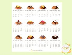 Your place to buy and sell all things handmade Calendar Stickers, All Design, Waffle, All Things, Messages, Make It Yourself, Mini, Handmade, Fairy
