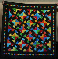 Relief Sale Quilt 2014.  Here we go!!! drunkard's path quilt pattern | Drunkard's Path tutorial | Seams to be you and me