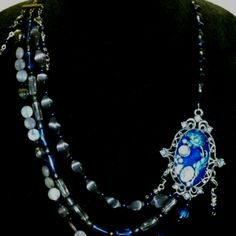 Vintage inspired necklace. Gorgeous