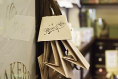 Bags and wrappings at Rose & Co. Apothecary, Haworth.  www.roseandcompany.com