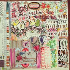 pam garrison art journal