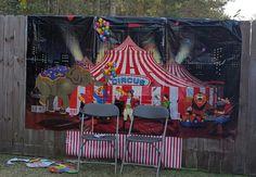 Circus theme..photo booth