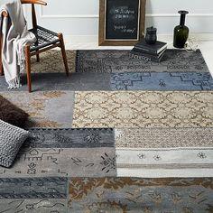 Cadiz Wool Rug - Platinum #westelm