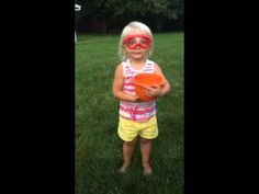 My 2 year old's ice bucket challenge to Dora The Explorer ... TOO freaking cute!!