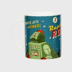 Inspired by Japanese 1950's robots this fantasticretrocollection will make a great gift ideas or homewareitem, The quality of this collection isfantasticwith stunning Bright and colourfulfinished andthepackaging gets a retro design, making each piece look like it has just been found in a vintage store. Product