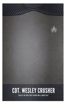 Star Trek TNG: Cadet Wesley Crusher by Marek Maurizio Star Trek Warp, Star Trek Tv, Star Trek Ships, Wesley Crusher, Star Trek Generations, Deep Space 9, Enterprise Ncc 1701, Star Trek Characters, Star Trek Universe