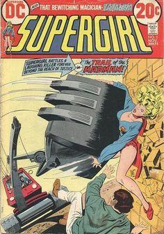 Kara Zor-El - Supergirl #1 Comic Book Cover