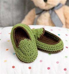 CHILD CROCHET FREE PATTERN SLIPPER - Crochet — Learn How to Crochet