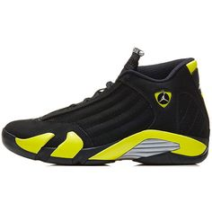 Air Jordan 14 The Definitive Guide to Colorways ❤ liked on Polyvore featuring shoes et sneakers