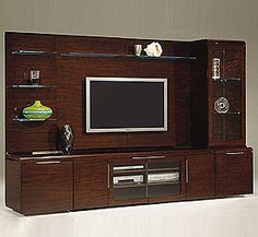 lcd tv wall unit with storage - Wall Units Design