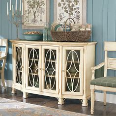 Moultrie Park Console by: Bassett