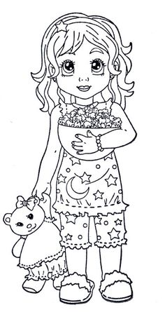 cute girly printable coloring pages - photo#24
