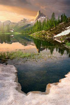 Lago di Federa by Matúš Koprda on 500px - Dolomites, Italy