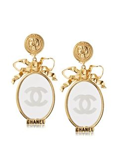 CHANEL Mirror Earrings, http://www.myhabit.com/redirect/ref=qd_sw_dp_pi_li?url=http%3A%2F%2Fwww.myhabit.com%2Fdp%2FB00H8N1AZG