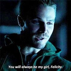 Felicity will always be Oliver's girl... :D <3