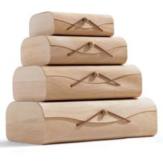Birch storage boxes from cb2
