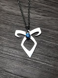 Angelic Rune Necklace - Shadowhunters Necklace - Mortal Instruments Necklace - Infernal Devices Necklace - The Dark Artifices Necklace