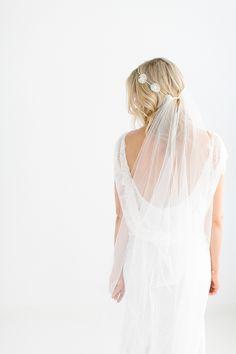Schleier und Headpieces von Belle Julie 2017 | Hochzeitsblog The Little Wedding Corner