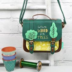 Love this! Disaster Designs 'Daydream' Can't See the Wood for the Trees Mini Satchel at lisaangel.co.uk