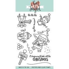 Neat and Tangled SANTA'S WONDERLAND Clear Stamp Set