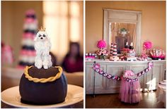 French Poodle Themed 1st Birthday Party