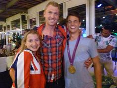 Alex Gregory- Rowing gold medalist also wearing a Nakal Jacket- Good man!