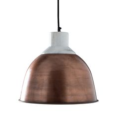 Wallace Hanging Light - Copper - contemporary - Pendant Lighting - C. Copper Pendant Lights, Contemporary Pendant Lights, Pendant Lighting, Light Pendant, Mini Pendant, Dot And Bo, Home Lighting, Hanging Lights, Light Fixtures
