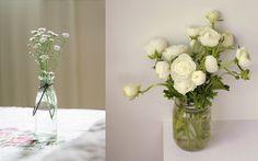 Ramos de flores silvestres Glass Vase, Ideas Para, Home Decor, Wild Flower Bouquets, Floral Arrangements, Old Tea Pots, Decoration Home, Room Decor, Home Interior Design