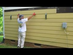 Hardieplank Lap Siding Install Video Youtube Exterior