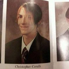 Motionless In White - Chris' yearbook photo...He's so cute. Have I already pinned this before? Do I care? Lol