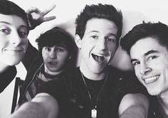4/6 O2L Trevor Moran, JC Caylen, Ricky Dillon, and Kian Lawley <3 will if you want to include Conner </3