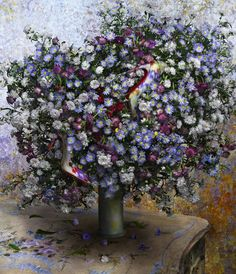 Claude Monet, photographed by Peter Lippmann for Christian Couboutin ss 2