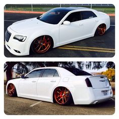 No words needed!  ss motor sports chrysler 300 s gold nutek wheels airlift air ride.