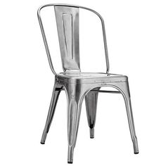 Cadeira de Metal - Prata - Kaza on Sale