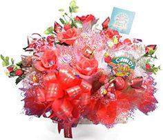 CandyBouquetJapan【正規販売】 @ Amazon.co.jp: Holiday Candy, Holiday Decor, Candy Bouquet, Bouquets, Christmas Wreaths, Home Decor, Decoration Home, Bouquet, Room Decor