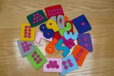 Felt Preschool Learning Numbers Game, Educational Number Toys, Preschool Learning Toys on Etsy, $25.00